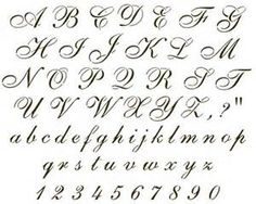Cursive Letter J Tattoo