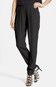 Wayf Front Pleat Crepe Track Pants // Hukk to find out when it goes on sale! #hukkster #Nordstrom #spring #womensfashion #Wayf