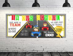 Browse educational resources created by INSPIRE ME studios in the official Teachers Pay Teachers store. Preschool Themes, Preschool Classroom, Classroom Themes, Kindergarten, Bilingual Classroom, School Wide Themes, School Ideas, School Fun, Race Car Themes