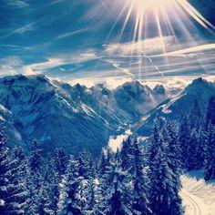 Beauté de l'hiver...