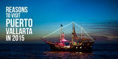 Reasons to Visit Puerto Vallarta in 2015. #Travel #Mexico