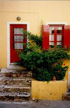 Kea island  Greece Art & Architecture, Colours in Buildings,Summer with colours,