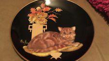 Chelsea Collector Plate ALDO FAZIO RECO Cat Plate 0878AP Sophisticated Ladies Aldo, Chelsea, Decorative Plates, Animals, Cat Design, Dishes, Chelsea Fc, Chelsea F.c.