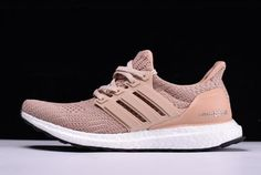 "04d4bce7087 Women s adidas Ultra Boost 4.0 ""Champagne Pink"" Ash Peach White-Black BB6309"