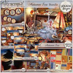 Autumn Sea Bundle  | Sekada Designs | 16/10 - New Release :: Memory Scraps