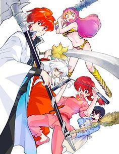 Cartoon Crossovers, Cartoon Characters, Zettai Karen Children, Alucard Mobile Legends, Inuyasha Fan Art, Sonic Funny, Anime Rules, Otaku, Manga Story