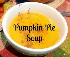 Gluten Free A-Z Blog: Paleo Pumpkin Pie Soup