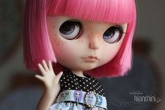 #100 Custom Simply Guava para Rosileine Fernandes Doll Base: Neo Blythe Simply Guava Full Custom by Gisele Bianchini For: Rosileine Fernandes Custom Commission Number #100