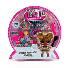 Stumbled on two more awesome LOL Surprise sets! One is a secret message jewelry set and the other is a LOL surprise light up diary with stickers! Both released on April . Jewelry Making Kits, Jewelry Kits, Jewelry Crafts, Message Secret, Alphabet Charms, Lol Dolls, Messages, Surprise Gifts, Disney Surprise