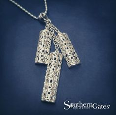 3 Piece C Er Pendant From The Southern Gates Collection P843 Sterling Silver