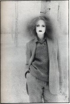 Vivienne Westwood, model Grace Coddington by David Bailey, 1970s