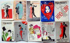 Letterology: Japanese Matchbook Labels