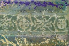 "Alejandro Vizcarra ""Friso"". 25cm x 35cm aprox óleo/tela."