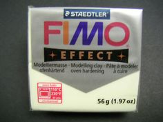 Who knew FIMO came in glow in the dark?!  Fimo Soft Effect 56g Polymer Modelling Clay Block Clay Oven Hardening 30 Colours | eBay