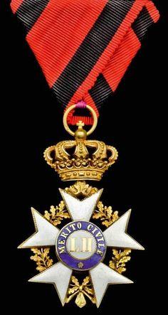 ITALY (Tuscany) - Order of Civil Merit, Knight´s breast Badge,