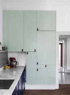 Cuisine Vert D Eau Kitchen Remodel Home Remodeling Kitchen