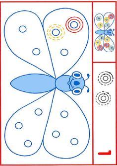 Activités imprimables Activités graphomotrices. http://www.activitesprescolaire.pequescuela.com/activites-prescolaire-imprimer-graphomotricite2.html