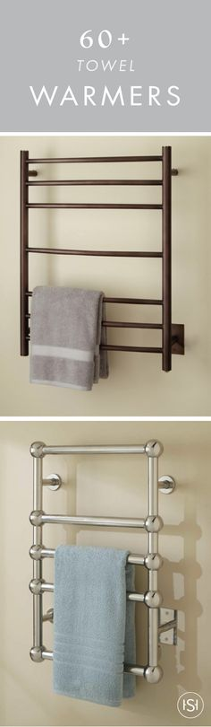 Talk about comforting! This collection of 60+ Towel Warmers is all the inspiration you need to add one of these luxurious fixtures into your master bathroom renovation. Pick your favorite metal finish and install one just in time for winter!