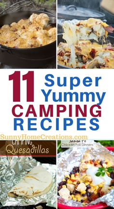 Great meal ideas for your family camping trip. If you are looking for some simple and easy meal ideas, check these out! Get the correct camping equipment for your camping needs Camping Bedarf, Family Camping, Camping Hacks, Camping Foods, Backyard Camping, Camping Stuff, Glamping, Backpacking Recipes, Camping Lunches
