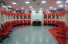 "Раздевалки на ""Открытие Арена"", Спартак- Москва --- Spartak Moscow locker room #спартак #москва #spatrak #moscow #groundhopping Basketball, Netball"