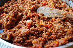 Köttfärssås enligt Viktväktarnas matkasse, 11 smartpoints per portion