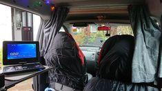 Camper Conversion, Van Conversion For Family, Berlingo Camper, Rental Vans, Custom Mercedes, Minivan Camping, Van Accessories, Vw T5, Daihatsu