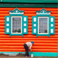 Vibrant Photos Immortalize the Ornate Windows of Russia Before They Disappear  Russian photographer Ivan Hafizov is on a mission of historic preservation. For many centuries, Russia has prided itself on its intricate woodworking called nalichniki. The craft was used particularly to decorate window casings—the trim molding that originates at the windowsill and wraps up and around the glass—creating a dainty border. Although the exact reason for this tradition isn't clear, window decorating…
