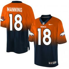 089fa2b41 ... 18 Denver Broncos Rush Vapor Untouchable NFL Peyton Manning Elite Jersey-80%OFF  Nike Lights Out Peyton Manning Elite Jersey at ...