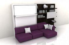 Muebles 3 en 1, Armario Empotrado, Sofá y Camas - Muebles versátiles para Espacios Pequeños : Casas Decoracion