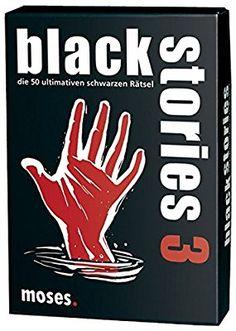 Moses black stories 3, 50 rabenschwarze Rätsel, Das Krimi Kartenspiel: Amazon.de: Spielzeug