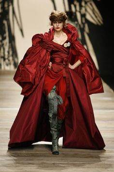Outrageously over the top. I love it. Vivienne Westwood
