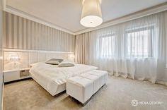 Piękna sypialnia w jasnych kolorach