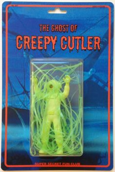 Image of The Ghost of Creepy Cutler by Super Secret Fun Club