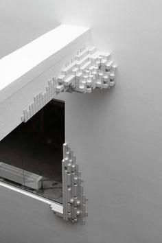 Architectural 3D Pixelation in a Danish School – Fubiz Media