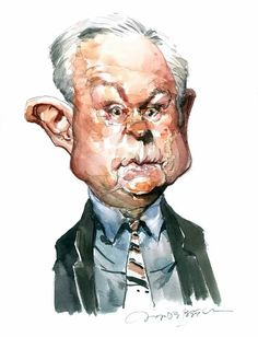 Jeff Sessions USA  Attorney General - Republican