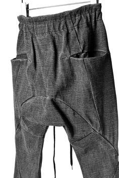 愛知県名古屋のセレクトショップDEVIANT / The Viridi-anne SLIM TROUSERS / HEAVY JERSEYの通販ページです。Dir en greyのボーカル京さんの着用モデルです。
