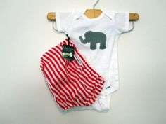 Onesie  Girl Circus Elephent Ruffle diaper covers gift by RaeGun, $23.50 (Circus Afro Outfit for Charlie)