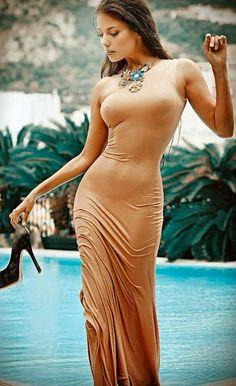 Wet gown