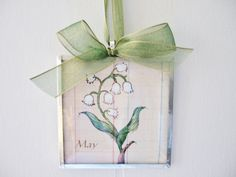 Check out this item in my Etsy shop https://www.etsy.com/listing/194408931/may-birth-month-flower-lily-of-the