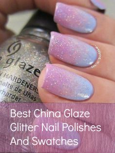 Best China Glaze Glitter Nail Polishes And Swatches