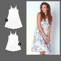 Kjole My Size, Peplum, Summer Dresses, Knitting Patterns, Sewing Patterns, Crochet Patterns, Womens Fashion, Stuff To Buy, Inspiration