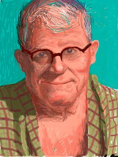 Official Works by David Hockney including exhibitions, resources and contact information. David Hockney Ipad, David Hockney Art, David Hockney Paintings, David Hockney Portraits, Pop Art, Cool Paintings, Art Google, Contemporary Artists, Caricature
