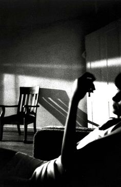 Ralph Gibson, The somnambulist (1970). When I look at photography, I love to imagine I'm there. Like... seeing the same lighting. It's so relaxing.