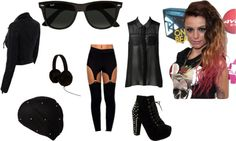 """""""black style"""" by fabbie-ray on Polyvore"""