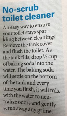 Homemade Cleaning Supplies, Diy Home Cleaning, Deep Cleaning Tips, Household Cleaning Tips, Toilet Cleaning, Cleaning Recipes, Natural Cleaning Products, Cleaning Solutions, Cleaning Hacks
