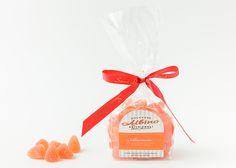 Morbida gelèe prodotta con succo di frutta e olio essenziale di arancio dolce