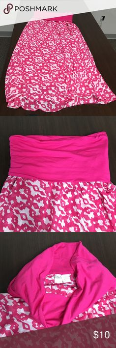 INC International Concepts Beach Skirt Converts into a dress or can be used as a maxi skirt!size L Skirts Maxi