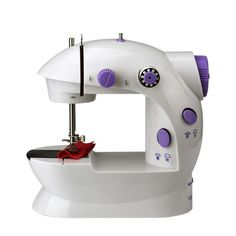 Amazing Portable Electric Sewing Machine Power: 4*AA 1.5V batteryMax. Sewing Speed: / Condition: New Overall Dimensions: Approx.200*150*80MM(L*W*H) Stitch Formation: Lock Stitch Feed Mechanism: Walking Foot Mechanical Configuration: Cylinder-Bed Type: Mini Sewing Machine Max. Sewing Thickness: / Stitch Length: Sew clothes with single sewing line Model Number: Mini Electric Sewing Machine Weight: 0.75kg