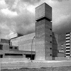 plagiarismisnecessary: Werner Düttmann St. Agnes Chruch, Berlin (1967)