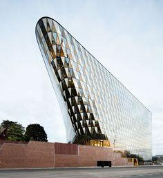 Aula Medica, Karolinska Institutet, Solna, Suecia - Wingårdhs Arkitektkontor - © Tord-Rickard Söderström